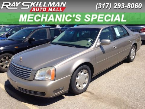 Used Cadillac DeVille 4DR SDN