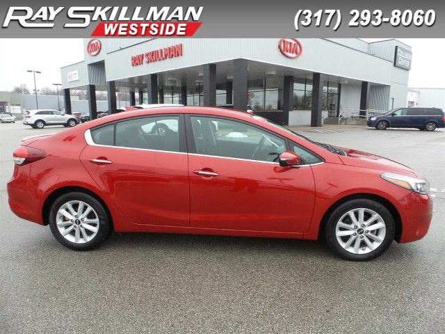 Certified Pre-Owned 2017 Kia Forte PUSH START,CAR PLAY