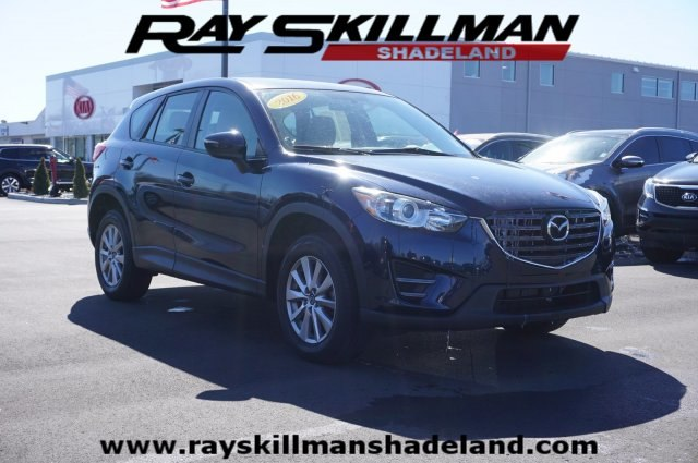 Pre Owned 2016 Mazda Cx 5 Sport Suv In Indianapolis D0157 Ray