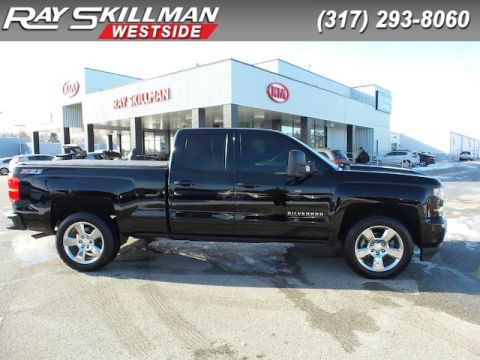 Pre-Owned 2017 Chevrolet Silverado 1500 Z71,20 CHROME WHLS""
