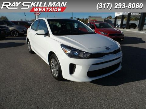New 2020 Kia Rio 4DR SDN LX AT