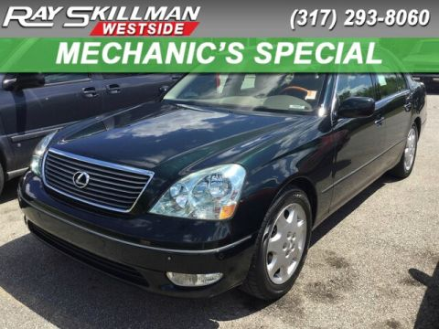 Pre-Owned 2003 Lexus LS 430 4DR SDN AT